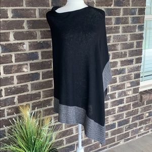 Celeste wool & Cashmere Blend Sweater Poncho
